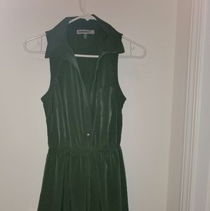 Bailey blue green dress size small #0143